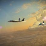 FlightImageSunset